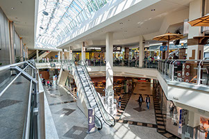 Mall der Shopping Arkaden in Bocholt